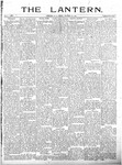 The Lantern, Chester S.C.- October 25, 1901
