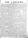 The Lantern, Chester S.C.- October 29, 1901