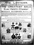 The Lantern, Chester S.C.- November 11, 1904