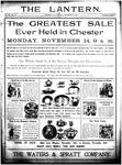 The Lantern, Chester S.C.- November 15, 1904