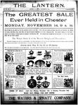 The Lantern, Chester S.C.- November 18, 1904