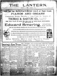 The Lantern, Chester S.C.- December 2, 1904