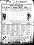 The Lantern, Chester S.C.- June 22, 1906