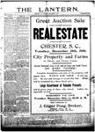 The Lantern, Chester S.C.- December 11, 1906
