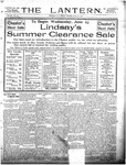 The Lantern, Chester S.C.- June 18, 1909
