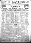 The Lantern, Chester S.C.- June 22, 1909