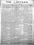 The Lantern, Chester S.C.- August 13, 1909
