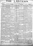 The Lantern, Chester S.C.- August 31, 1909