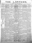 The Lantern, Chester S.C.- November 5, 1909
