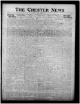 The Chester News October 22, 1918 by W. W. Pegram and Stewart L. Cassels