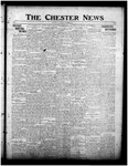 The Chester News November 29, 1918 by W. W. Pegram and Stewart L. Cassels