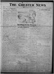 The Chester News March 14, 1919 by W. W. Pegram and Stewart L. Cassels
