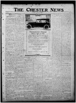 The Chester News November 7, 1919 by W. W. Pegram and Stewart L. Cassels