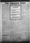 The Chester News November 4, 1921 by W. W. Pegram and Stewart L. Cassels