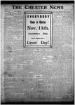 The Chester News November 8, 1921