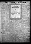 The Chester News November 11, 1921 by W. W. Pegram and Stewart L. Cassels