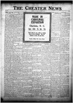 The Chester News September 19, 1922