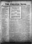 The Chester News November 3, 1922 by W. W. Pegram and Stewart L. Cassels