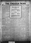 The Chester News November 7, 1922 by W. W. Pegram and Stewart L. Cassels