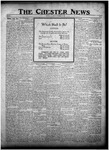 The Chester News November 10, 1922 by W. W. Pegram and Stewart L. Cassels