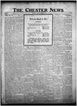 The Chester News November 14, 1922 by W. W. Pegram and Stewart L. Cassels