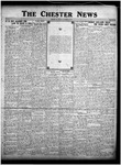 The Chester News September 29, 1925 by W. W. Pegram and Stewart L. Cassels
