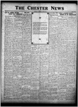 The Chester News October 6, 1925 by W. W. Pegram and Stewart L. Cassels