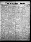 The Chester News October 9, 1925 by W. W. Pegram and Stewart L. Cassels