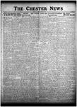 The Chester News October 16, 1925 by W. W. Pegram and Stewart L. Cassels