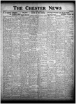 The Chester News October 20, 1925 by W. W. Pegram and Stewart L. Cassels