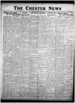 The Chester News October 30, 1925 by W. W. Pegram and Stewart L. Cassels
