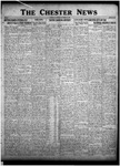 The Chester News November 20, 1925 by W. W. Pegram and Stewart L. Cassels