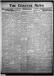 The Chester News November 27, 1925 by W. W. Pegram and Stewart L. Cassels