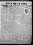 The Chester News March 11, 1927 by W. W. Pegram and Stewart L. Cassels