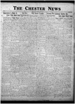 The Chester News April 22, 1927 by W. W. Pegram and Stewart L. Cassels