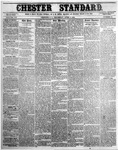 The Chester Standard - April 3, 1856 by C. Davis Melton
