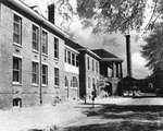 West Side of Crawford Infirmary ca early 1960s by Winthrop University and Clarence H. and Anna E. Lutz Foundation