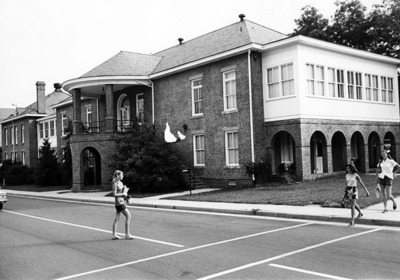 South and West Sides of Crawford Infirmary August 1970