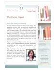 The Dacus Digest Volume 2 Issue 1 by Michaela Eileen Volkmar and Dacus Library