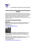 April 2005: Notable State Documents by Dacus Library