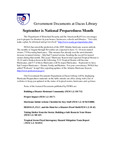 September 2005: Hurricanes by Dacus Library