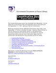September 2006: Constitution Day by Dacus Library