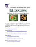 May 2007: Gardening with the Department of Agriculture