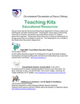 March 2008: Teaching Kits by Dacus Library