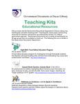 March 2008: Teaching Kits