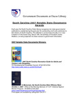 April 2008: Notable State Documents by Dacus Library