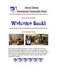 September 2008: Welcome Back! by Dacus Library
