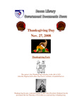 November 2008: Thanksgiving Day by Dacus Library