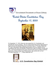 September 2009: United States Constitution Day