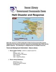 March 2010: Haiti Disaster and Response